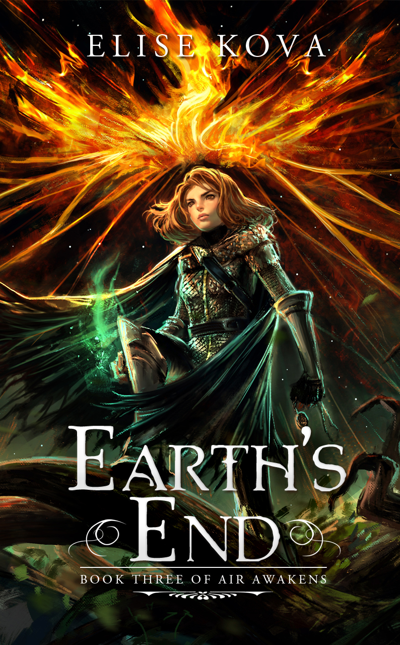 Earth's End Cover Only
