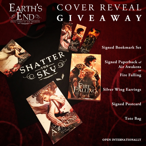 swag bag giveaway cover reveal
