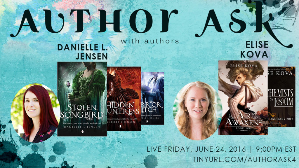 Author Ask Danielle