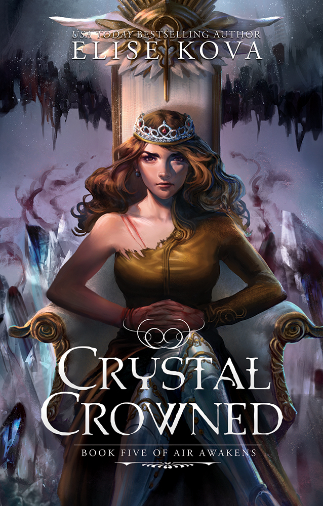 Crystal Crowned Cover Only 7-22sm