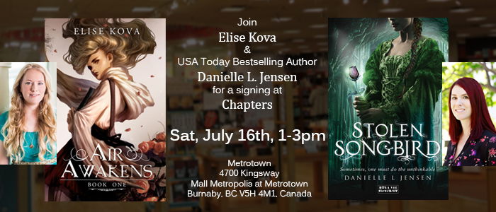 signing in vancouver w danielle