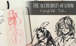 Concept Art (Part 1) – The Alchemists of Loom