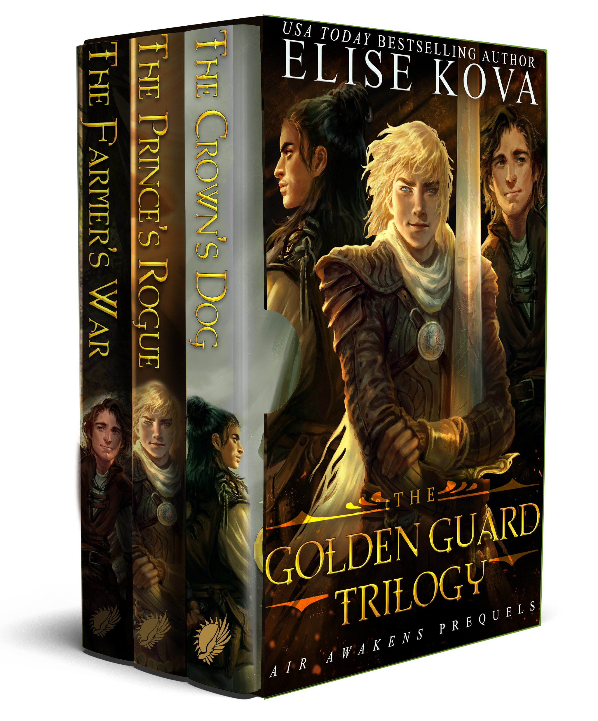 Golden Guard Boxed Set Transparent