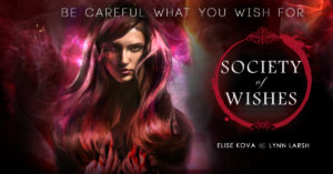 Cover Reveal: Society of Wishes