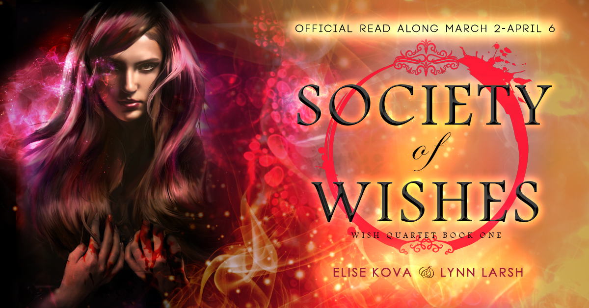 Join the official read along for the first book in the Wish Quartet in advance of book two's release!