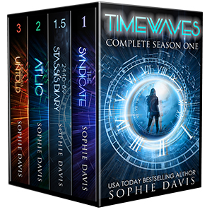 4 Books for $5.99  Regular Price $9.99  Time Travel  Dystopian