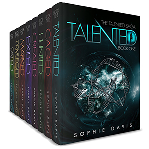 5 Books for $9.99Psychic PowersDystopian Romance