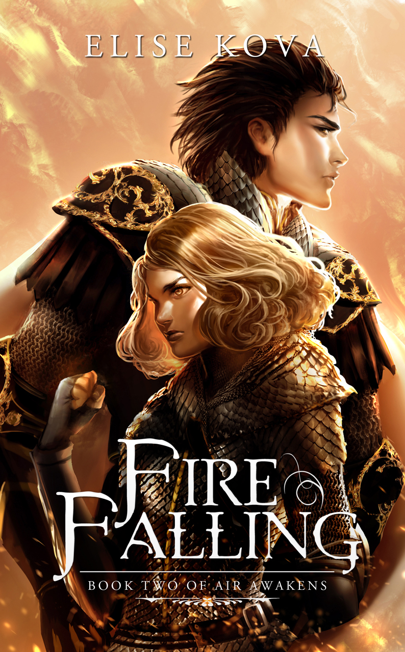 Fire Falling Cover Only