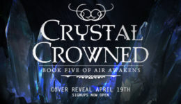 crystal crowned cover reveal banner