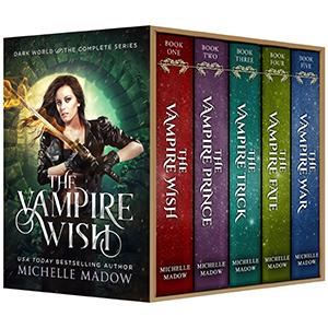 5 Books for $9.99 Vampires Urban Fantasy