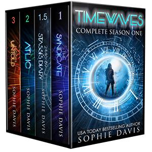 4 Books for $5.99 Regular Price $9.99 Time Travel Dystopian
