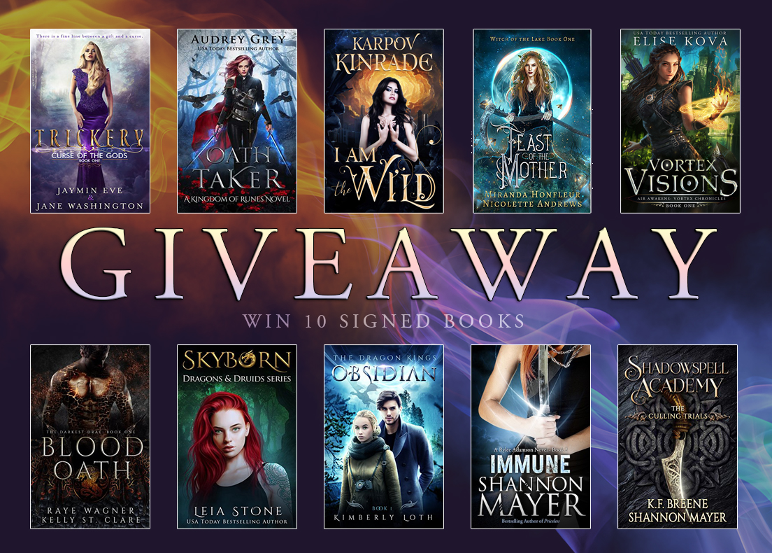 Penned Con Giveaway