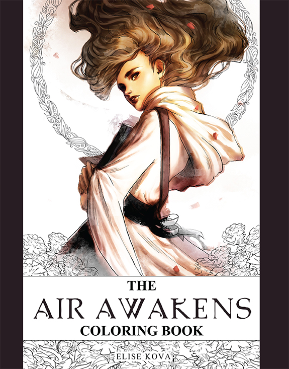 Air Awakens Coloring Book