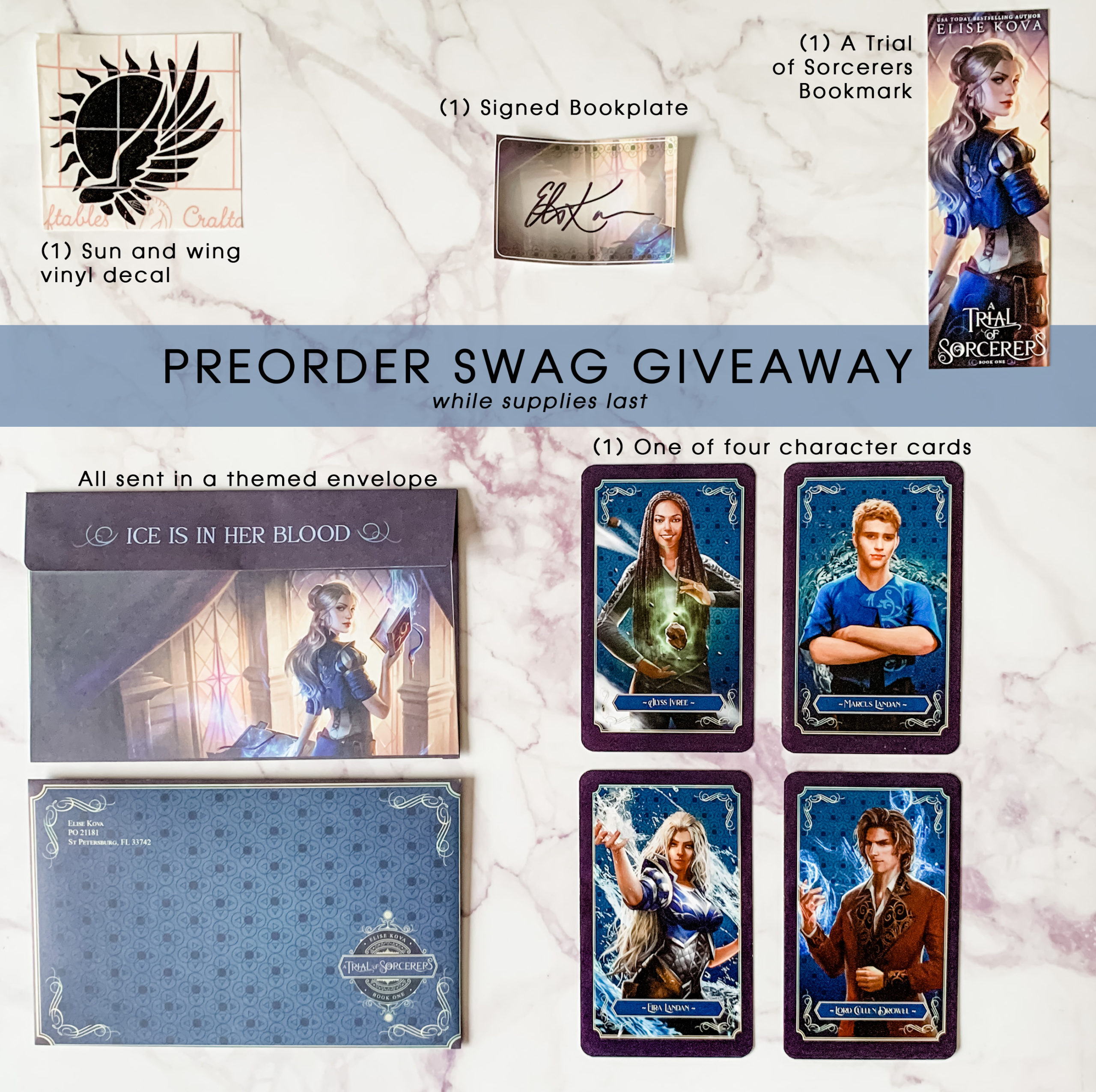 Trial Swag Giveaway